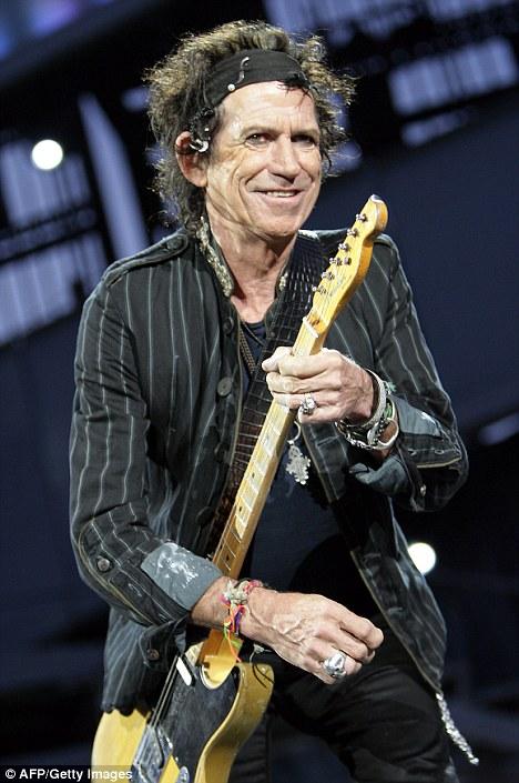 Keith Richards Hands