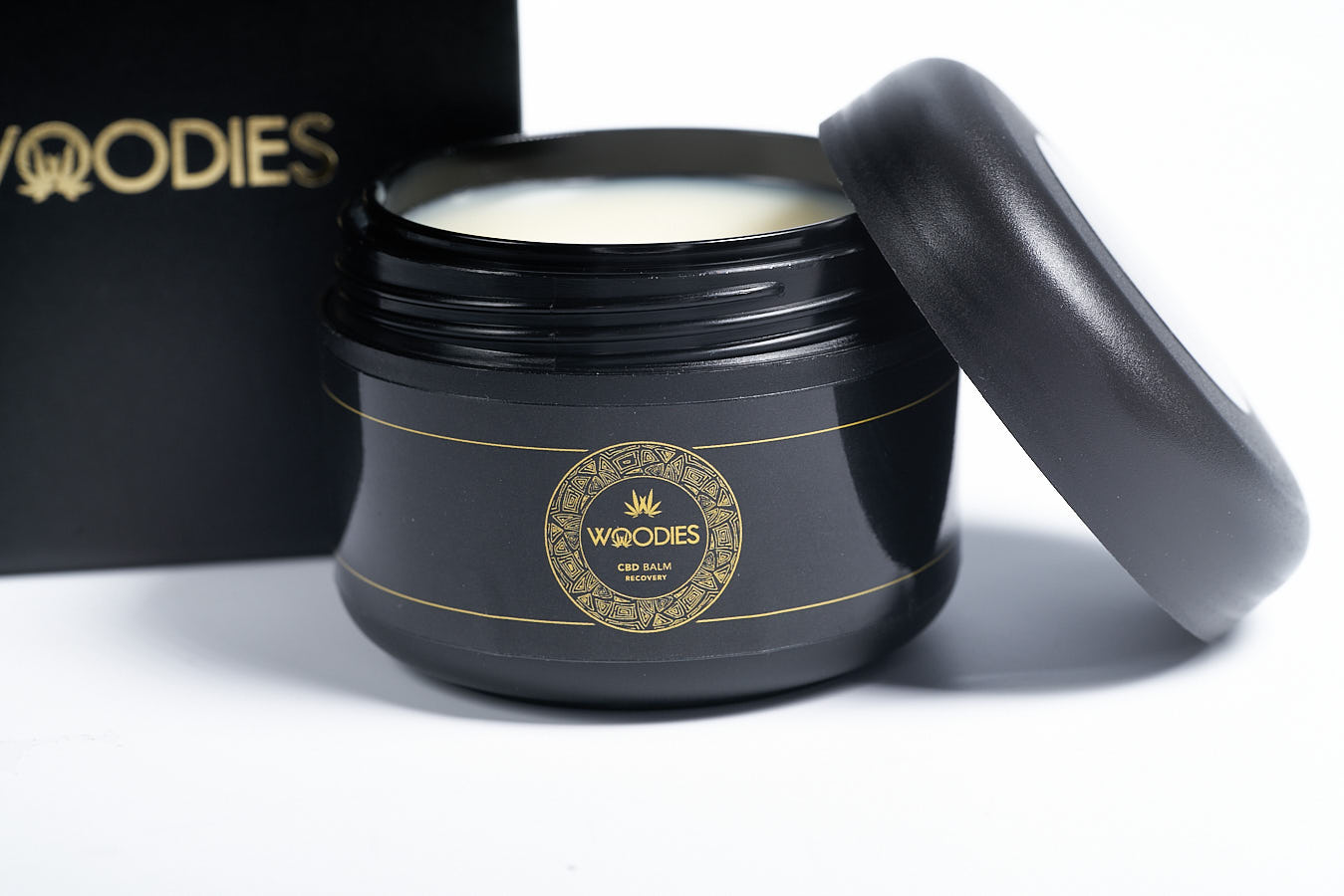Woodies CBD Recovery Balm 100ml