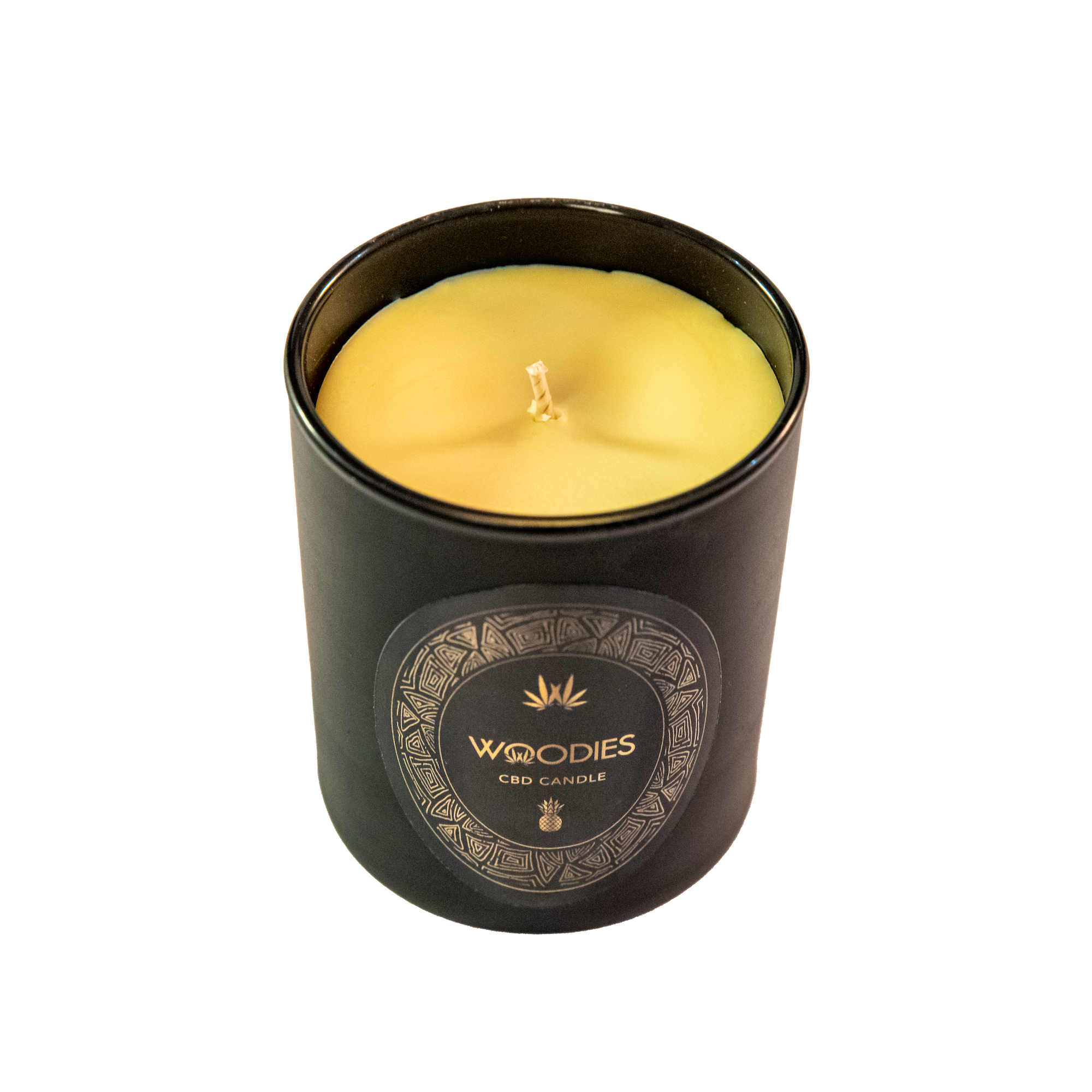 Woodies Pineapple Scented CBD Candle