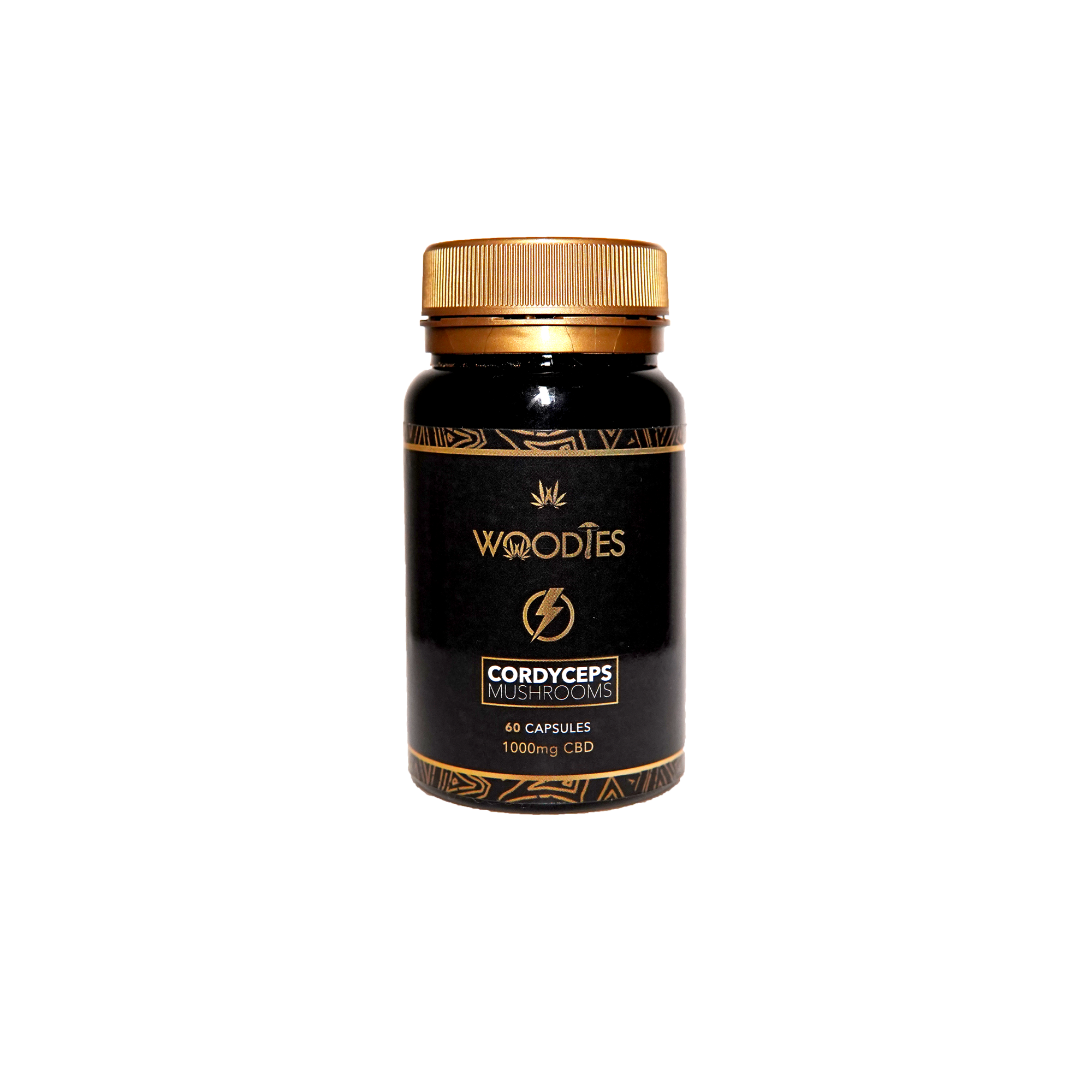 Woodies CBD and Cordyceps Mushroom