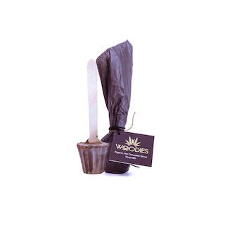 Woodies CBD Chocolate Stirrers
